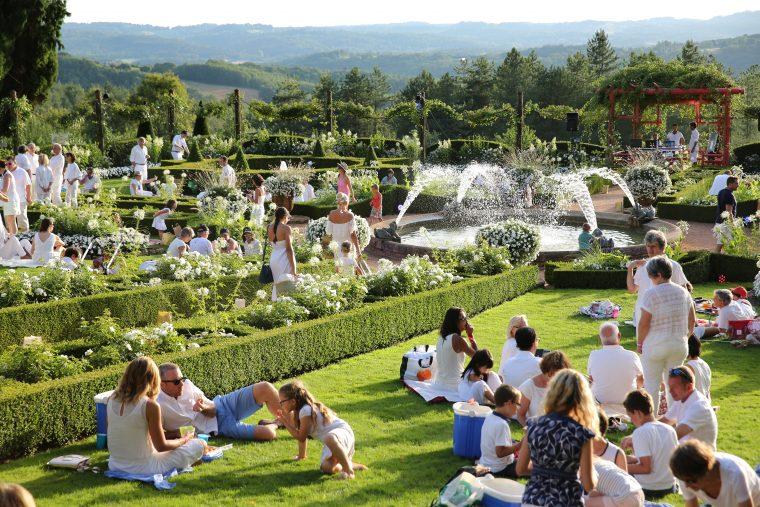 Happy Pique Nique aux jardins d'Eyrignac